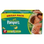287 Couches Pampers Baby Dry taille 4+