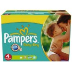 176 176 Couches Pampers Baby Dry sur auchan