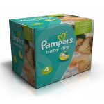 308 308 Couches de Pampers Baby Dry sur auchan