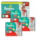 464 Couches Pampers Baby Dry Pants taille 4
