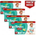 522 Couches Pampers Baby Dry Pants taille 4
