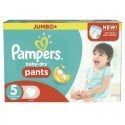 130 Couches Pampers Baby Dry Pants taille 5