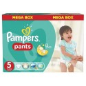 208 Couches Pampers Baby Dry Pants taille 5