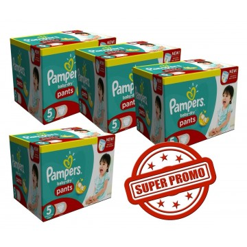 338 Couches Pampers Baby Dry Pants taille 5