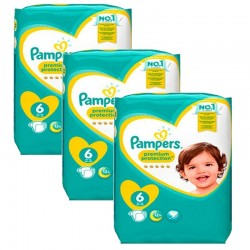 380 Couches Pampers New Baby Premium Protection taille 6