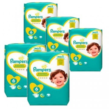532 Couches Pampers New Baby Premium Protection taille 6