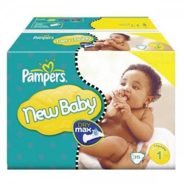 768 Couches Pampers New Baby Premium Protection taille 1