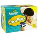 864 Couches Pampers New Baby Premium Protection taille 1