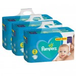 188 Couches Pampers Active Baby Dry taille 2