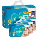 282 Couches Pampers Active Baby Dry taille 2