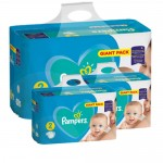 470 Couches Pampers Active Baby Dry taille 2