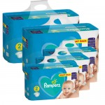 564 Couches Pampers Active Baby Dry taille 2