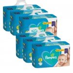 658 Couches Pampers Active Baby Dry taille 2