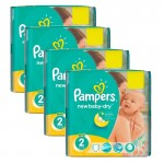 432 Couches Pampers New Baby Dry taille 2