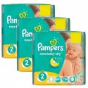 864 Couches Pampers New Baby Dry taille 2