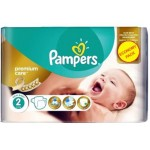 80 Couches Pampers New Baby Premium Care taille 2