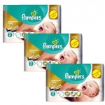 400 Couches Pampers New Baby Premium Care taille 2