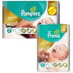 720 Couches Pampers New Baby Premium Care taille 2