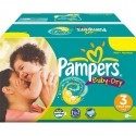 696 Couches Pampers Baby Dry taille 3
