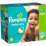 812 Couches Pampers Baby Dry taille 3