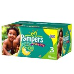 1044 Couches Pampers Baby Dry taille 3