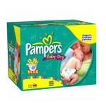 638 Couches Pampers Baby Dry taille 2