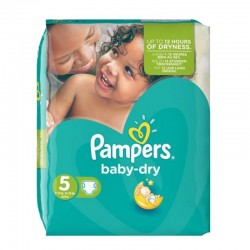 15 Couches Pampers Active Baby Dry taille 3