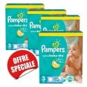 270 Couches Pampers Active Baby Dry taille 3