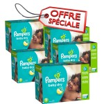760 Couches Pampers Baby Dry taille 5