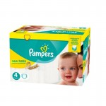 264 Couches Pampers New Baby Premium Protection taille 4