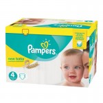 504 Couches Pampers New Baby Premium Protection taille 4