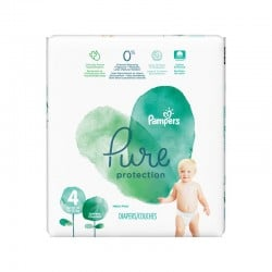 28 Couches Pampers Pure Protection taille 4