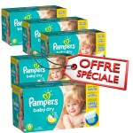 384 Couches Pampers Baby Dry taille 6
