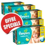 960 Couches Pampers Baby Dry taille 6