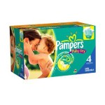 50 Couches Pampers Baby Dry taille 4