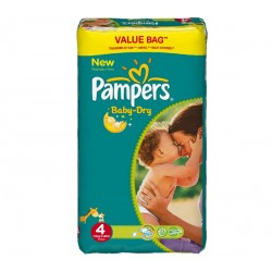 294 Couches Pampers Baby Dry taille 4