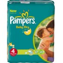 441 Couches Pampers Baby Dry taille 4