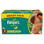 490 Couches Pampers Baby Dry taille 4
