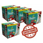 285 Couches Pampers Baby Dry Pants taille 6