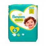 31 Couches Pampers New Baby Premium Protection taille 6