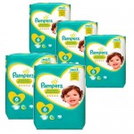 62 Couches Pampers New Baby Premium Protection taille 6