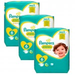 372 Couches Pampers New Baby Premium Protection taille 6