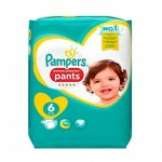 16 Couches Pampers Premium Protection Pants taille 6