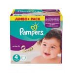 1120 Couches Pampers Active Fit Pants taille 4