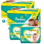 Mega pack 123 Couches Pampers Premium Protection taille 4