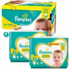205 Couches Pampers Premium Protection taille 4
