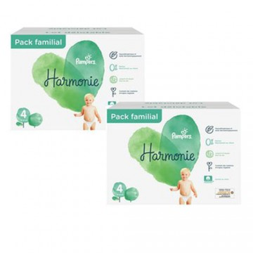 76 Couches Pampers Harmonie taille 4