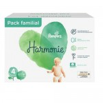95 Couches Pampers Harmonie taille 4