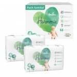 190 Couches Pampers Harmonie taille 4
