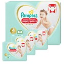 141 Couches Pampers Premium Protection Pants taille 4